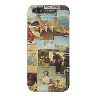 Old French Paris Advertisement Collage iPhone 5 Cover