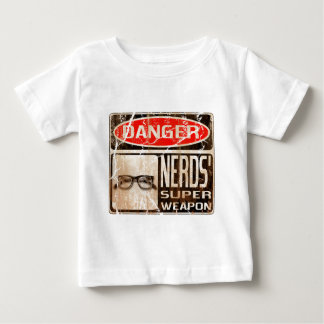 Old funny signboard for Nerds' Super Weapon Baby T-Shirt