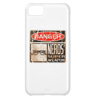 Old funny signboard for Nerds' Super Weapon Cover For iPhone 5C