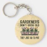 Old Gardeners Keychain