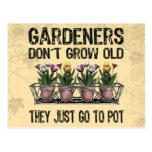 Old Gardeners Postcard