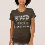 Old Gardeners Tee Shirts
