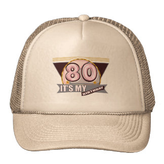 Old Geezer 80th Birthday Gifts Cap