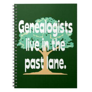 Old Genealogists Never Die Notebook