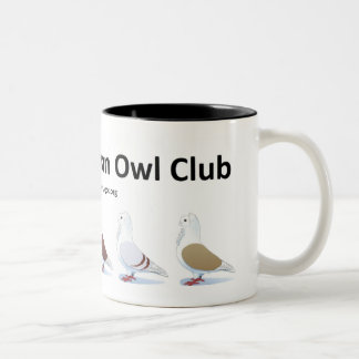 Old German Owl Club Mug