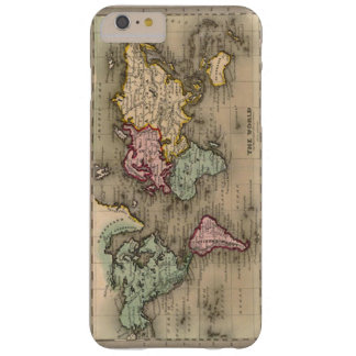 (old global map case) barely there iPhone 6 plus case