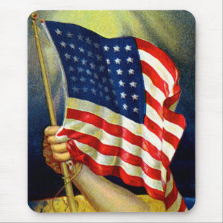 Old Glory American Flag Mouse Pads