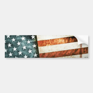 Old Glory Bumper Sticker