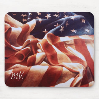 OLD GLORY MOUSE PAD