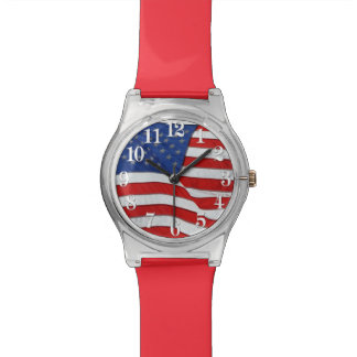 Old Glory Patriotic US Flag, United States Watch