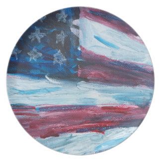 Old Glory Perspective Plate