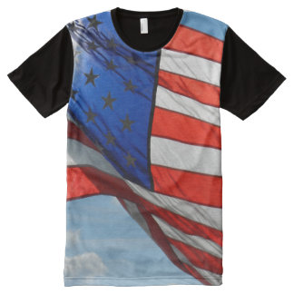 Old Glory – Stars and Stripes All-Over Print T-Shirt