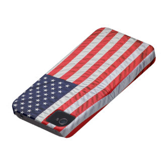 Old Glory Theme iPhone 4 Cover
