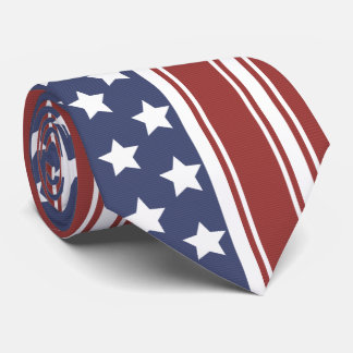 Old Glory's Stars & Stripes Tie
