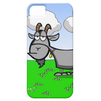 Old goat cartoon phone case