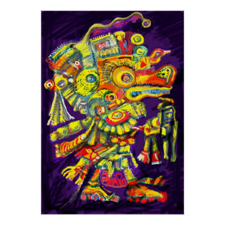 ***Old Gods II*** Albruno's digital painting. Poster