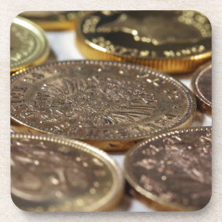 Old Gold Coins Coasters