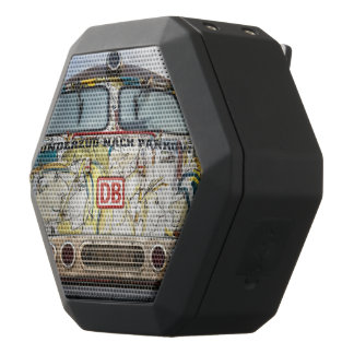Old graffiti truck black bluetooth speaker
