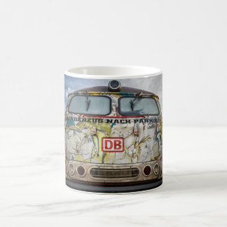 Old graffiti truck coffee mug