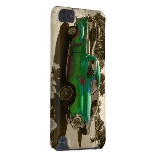 Old green car iPod touch (5th generation) case