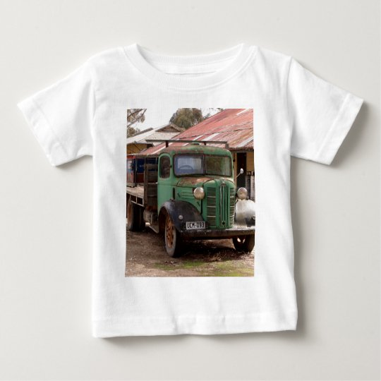 Old green truck baby T-Shirt