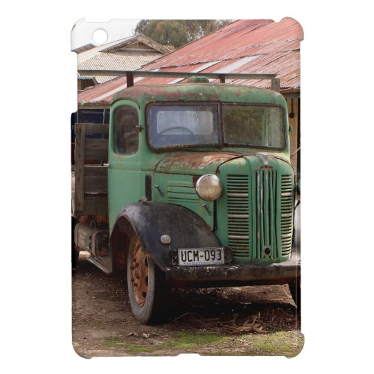 Old green truck iPad mini case