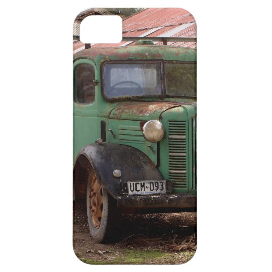 Old green truck iPhone 5 cover