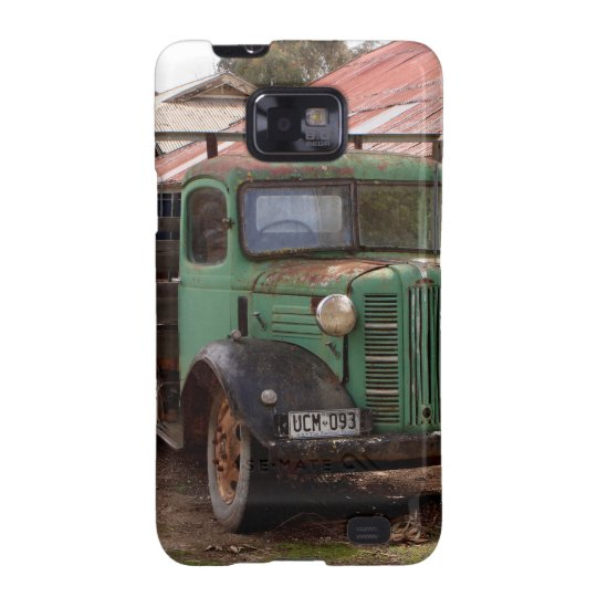 Old green truck samsung galaxy SII cover