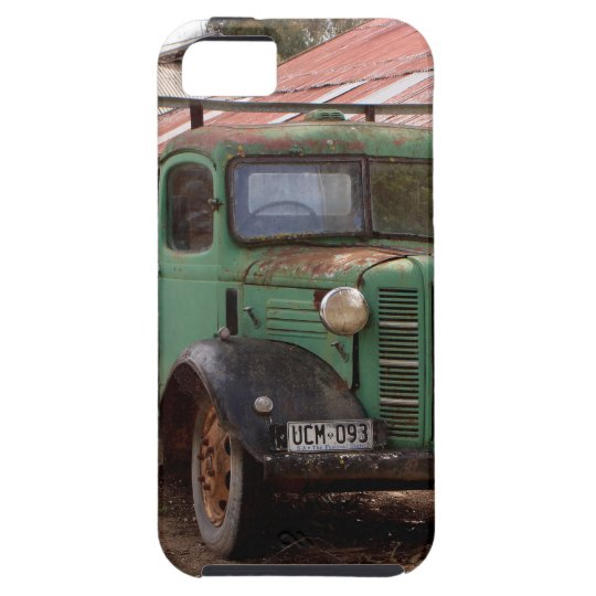 Old green truck tough iPhone 5 case