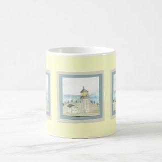 Old Grey Lighthouse - mug