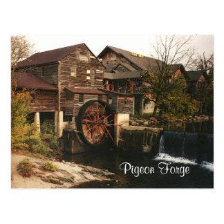 Old Grist Mill Postcard