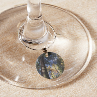 old growth hemlock tree wine charm