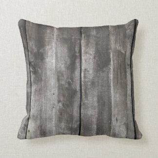 Old Grunge Wood Texture Pilllow Cushion