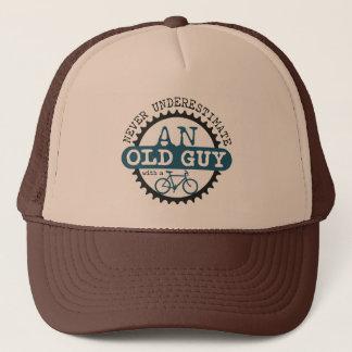 Old Guy Trucker Hat