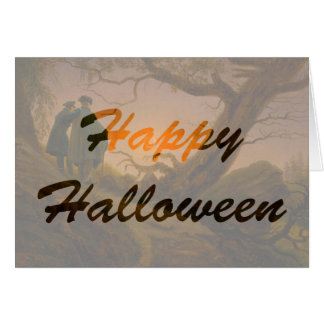 Old Halloween Greeting Card