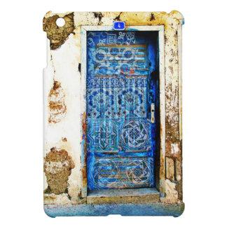 Old Hand Painted Blue Door in Greece iPad Mini Cover