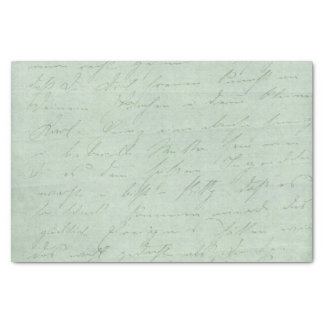 Old handwriting love letters faded antique script tissue paper