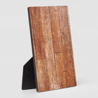 Old Hardwood Look Plaque
