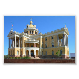 Old Harrison County Courthouse, Marshall, Texas Photographic Print