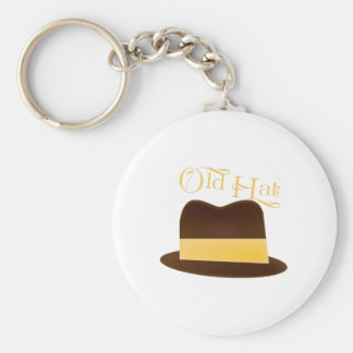 Old Hat Key Chains