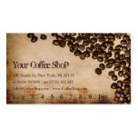 Old Hessian Coffee Bean Photo - Punch Card Pack Of Standard Business Cards