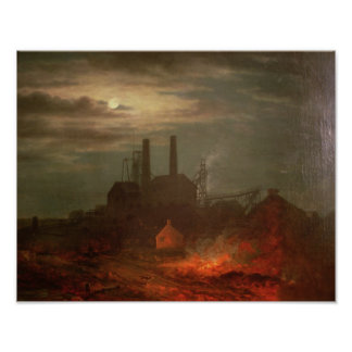 Old Hetton Colliery, Newcastle Poster