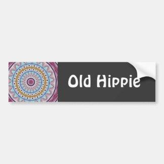 Old Hippie Bumper Sticker