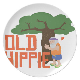 Old Hippie Plate
