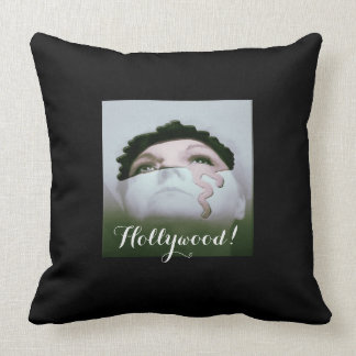Old Hollywood 2 Throw Pillow