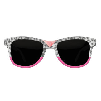 Old Hollywood Leopard Print Pink Siren Statement Sunglasses