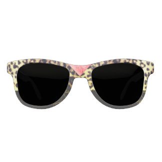 Old Hollywood Leopard Statement Sunglasses