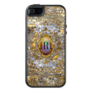 Old Hollywood Pretty Girl Personalized Monogram OtterBox iPhone 5/5s/SE Case