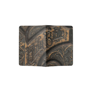 Old holy bible passport holder