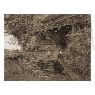 Old Homestead 1890 Big Greeting Card
